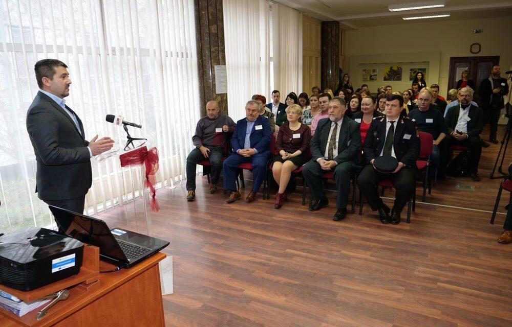 Conferința de lansare a proiectului în Berettyóújfalu