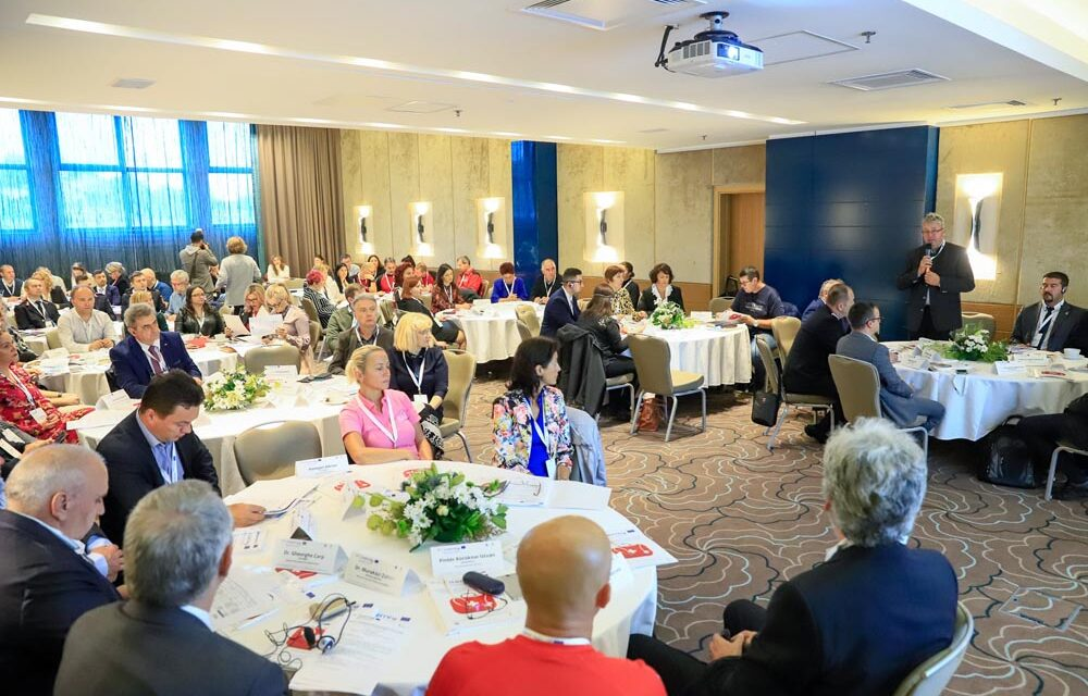 Conferința de lansare a proiectului în Oradea